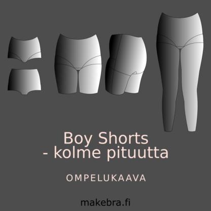 Boy Shorts ompelukaava