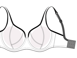 bra pattern DL01