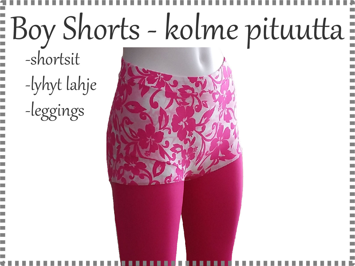 Boy shorts kurssi